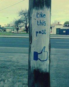 Like this utility pole ;-)
