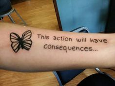 My first tattoo taken from my favorite game Life is Strange.