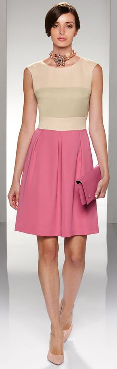 Cinzia Rocca Sophisticated in Pink #newyearstylechallenge