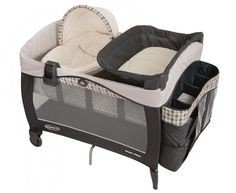 Brand New Graco Pack 'N Play with Newborn Napper Elite & Bassinet (Vance), Baby #Graco