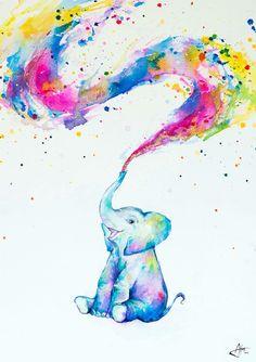 Elefantenbaby Poster Frühling Source tattoo designs, tattoo, small tattoo, meaningful tattoo, tattoo Elefant, Elefanten Skizze, Kunst Inspiration, Tiere Malen, Wasserfarben Kunst, Elefantenbaby, Elefant Malen, Kunstzeichnungen, Tiergemälde