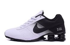 ffd62ec65159d7 Nike Shox Delive White Black Mens Running Shoes NIKE-NSZ002088