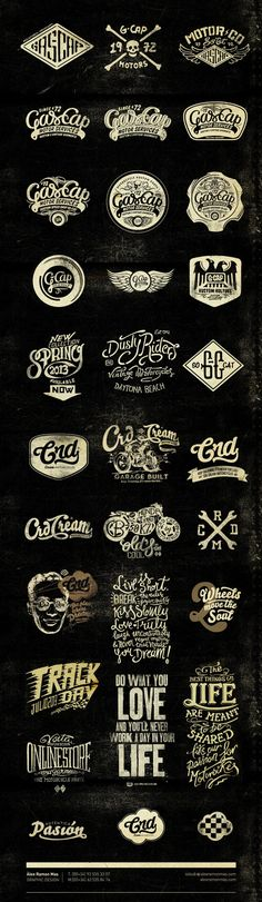 Alex Ramon Mas designs on Typography Served
