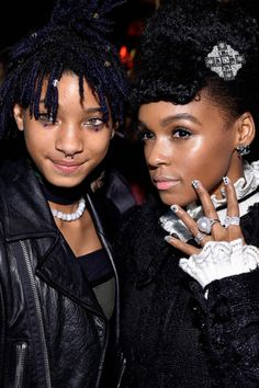 Willow Smith and Janelle Monae