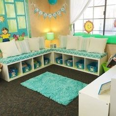 Diy Classroom Decorating Ideas New Classroom Library Makeover A Teeny Tiny Teacher Classroom Setting, Classroom Design, Preschool Classroom, Future Classroom, Classroom Ideas, Classroom Reading Nook, Classroom Libraries, Preschool Reading Corner, Book Corner Classroom