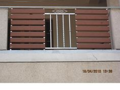 modern terrace railing design - Google Search