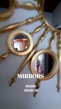 Luxury Interior Design, Bathroom Interior Design, Curtain Designs For Bedroom, Sunburst Mirror, Diy Photo, Luxurious Bedrooms, Home Decor Kitchen, Decoration, Interior Inspiration