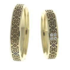Verighete ATCOM Lux DOINITA aur galben Aur, Bangles, Wedding Rings, Engagement Rings, Finger, Gold, Weddings, Jewelry, Jewels