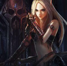 Artist Spotlight - Warcraft Fantasy Art Featuring Chenbo