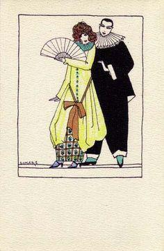 833. Maria Likarz - Wiener Werkstatte postcard