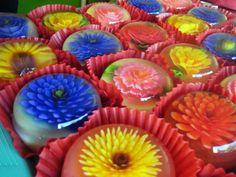 3D-цветы в желе | CarvingPRO. Брестская студия карвинга