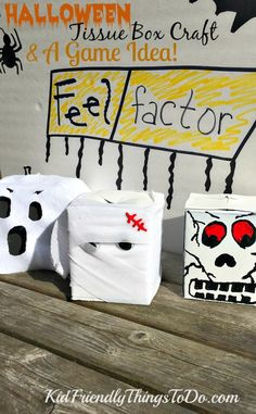 halloween fear factor game for kids craft idea - Halloween Fear Factor Games