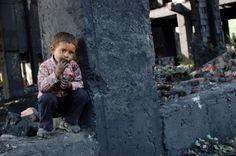 Child in poverty, Ontario, Canada