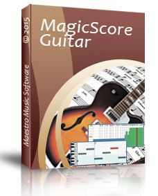 Win one of the 50 licenses for MagicScore Guitar 8!  Play and compose guitar music with ease! Whether you are seasoned professional, music teacher or just a learning beginner, MagicScore Guitar will bring the full power of a highly sophisticated tab editing and music notation software right to your fingertips.