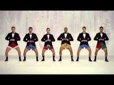 Kmart jingle bells Commercial Show Your Joe Jingle Bells men In Boxers! [Funny Kmart TV AD] Show Your Joe - Kmart Christmas Commercial TV AD Advertiser Kmart. Christmas Jingles, Christmas Music, Christmas Humor, Merry Christmas, Gif Silvester, Sorry Justin, Whatsapp Videos, We Will Rock You, Best Commercials