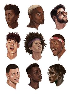 illustratedkate. different skin tones.