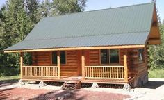 Troy cabin rental - Payne Creek Cabin - well constructed by Amish craftsmen at Meadowlark Log Homes