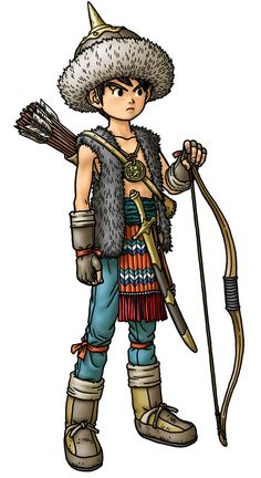 Ranger male - pictures q design dragon quest, dragon и fanta Dragon Quest 8, Design Dragon, Male Pictures, Character Art, Character Design, Adventure Aesthetic, Pokemon, Human Art, Fantasy Illustration