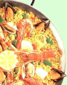 """Paella. Ok I have seen on several cooking shows that make a """"paella"""" in few minutes. They call it paella but its not. A perfect and authentic paella takes time. With every new product added takes a certain amount of time.  One of signature dishes, mine takes 2:30 to 3:00 hours to cook. It can't be rushed."""