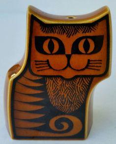 Hornsea England Kitty Cat Single Shaker Vtg Salt or Pepper Replacement