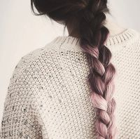 Brown Light Pink Ombre