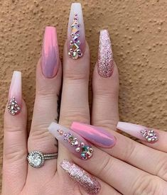 Looking for easy nail art ideas for short nails? Look no further here are are quick and easy nail art ideas for short nails. Acrylic Nails Natural, Best Acrylic Nails, Acrylic Nail Designs, Nail Art Designs, Nails Design, Acrylic Art, Glam Nails, Fancy Nails, Cute Nails