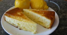 Recette - Gâteau au yaourt et au citron | 750g