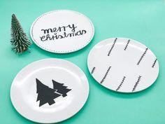 Christmas Diy, Decorative Plates, Winter Diy, Home Decor, Decoration Home, Room Decor, Home Interior Design, Homemade Christmas, Diy Christmas