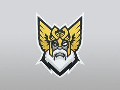 Odin Mascot Logo