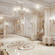 Mansion Interior, Luxury Homes Interior, Luxury Home Decor, Home Interior Design, Dream Home Design, Modern House Design, Luxury Homes Dream Houses, Classic House, Dream Rooms
