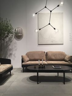 Minna Jones: MENU - Stockholm Furniture Fair 2017 Living Room Interior, Living Room Decor, Living Spaces, Interior Architecture, Interior And Exterior, Interior Styling, Interior Design, Minimal Home, Cozy Corner