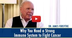 Many factors are involved in fighting and beating cancer, one of which is a strong immune system. Watch as oncologist, Dr. James Forsythe, shares why it is so vital and what tests he runs with his patients. (Video transcript included)