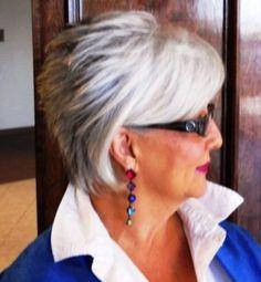 Corte de cabelos curtos para mulheres 60+ http://www.viva50.com.br/?p=28822