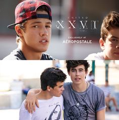 Nash Grier, Cameron Dallas, Hayes Grier And Carter Reynolds Aeropostale Models For UnitedXXVI  - http://oceanup.com/2014/10/28/nash-grier-cameron-dallas-hayes-grier-and-carter-reynolds-aeropostale-models-for-unitedxxvi/