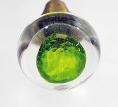 I would love handblown glass door knobs on all of our doors ...