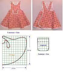 Resultado de imagem para moldes vestido infantil