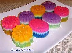 Purple Jelly Dessert - Bing images