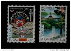 SET 2 STAMPS - TOURISM - 1995 - FINLAND - **/MNH - Delcampe.net