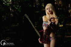 Sapphire Ng   Tribal Pattern Bikini Shoot. Photo by Joe Harary, Makeup by Variant Shades Makeup.
