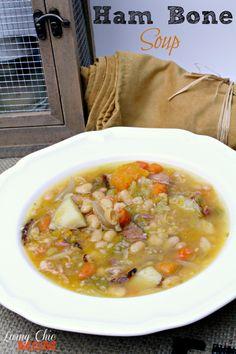 Ham Bone Soup Recipe - Living Chic Mom