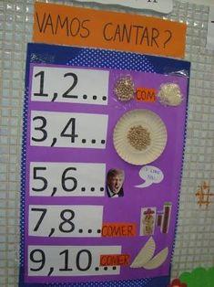 Resultado de imagem para ilustração da parlenda um dois feijão com arroz Expo 2020, Little Ones, Preschool, How To Plan, Games, Cover, Kids, 1, Scrapbook