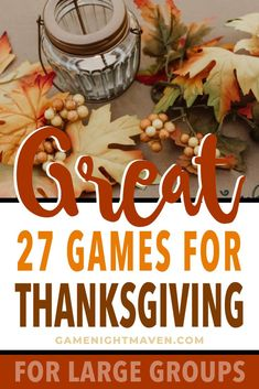 Playing Thanksgiving games that include the whole family can be a trick. Here are our favorite Thanksgiving games for large groups. Thanksgiving Family Games, Outdoor Thanksgiving, Thanksgiving Celebration, Thanksgiving Crafts For Kids, Thanksgiving Traditions, Thanksgiving Parties, Thanksgiving Facts, Holiday Games, Holiday Activities