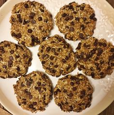 Chocolate Coconut Cookies shared by theplantedpalate! 2 bananas, mashed; 1 scoop vanilla Perfect Fit Protein; 1 cup oats; 1/2 cup unsweetened shredded coconut; 1/2 cup chocolate chips; pinch of salt; and 1 tbsp coconut oil. Preheat oven to 350 degrees. Mix bananas, oats, coconut oil & salt in a blender until smooth. Add coconut and chips to the mixture. Drop the dough on your pre-sprayed cookie sheet and lightly press down to flatten. Bake for 15-20 minutes or until golden brown. Enjoy!