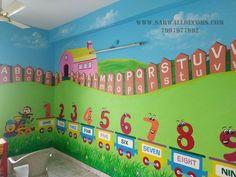 Preschool Classroom Decor, Classroom Wall Decor, Modern Classroom, Toddler Classroom, Classroom Walls, Classroom Displays, Kindergarten Classroom, School Board Decoration, School Decorations
