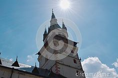The Church of Saint Catherine of Alexandria is situated right in the center of Kremnica.