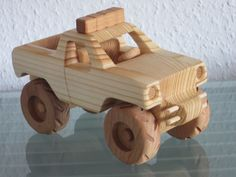 Monster truck suvs pickup truck car model wood tractor with trailer car model wood Wooden Toy Trucks, Wooden Car, Woodworking Toys, Woodworking Projects, Wood Projects, Pick Up, Cardboard Car, Mini Car, Car Makes