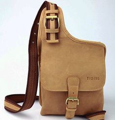 b35fc8b941 Vintage Men s Genuine Leather Shoulder Chest Sling Bags Backpack Messenger  Bag