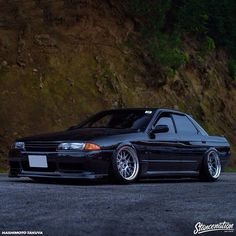 Nissan Skyline R32 4 Door #Nissan #GreaseGarage #Skyline #R32 #Stance #JDM