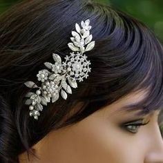 vintage bridal hair accessories - Google Search
