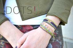 DIY dots bracelet